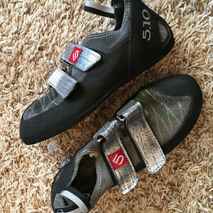 Five Ten Stealth Rubber Climbing Shoes - Women Size 8 / Men 6.5