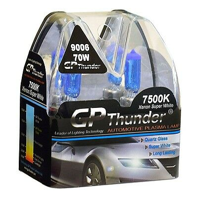 GP Thunder II 7500K 9006 HB4 Xenon Halogen Light Bulb 70W Super White high (70w Xenon Bulb)