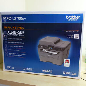 Brother MFC-L2700DW Compact Mono Laser All-in-One Printer Wi-Fi