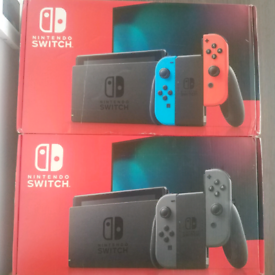 Nintendo Switch Console with improved battery - Brand new