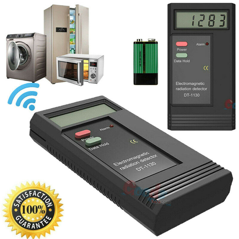 Electromagnetic Radiation Tester EMF Meter Electric Magnetic Field Detector