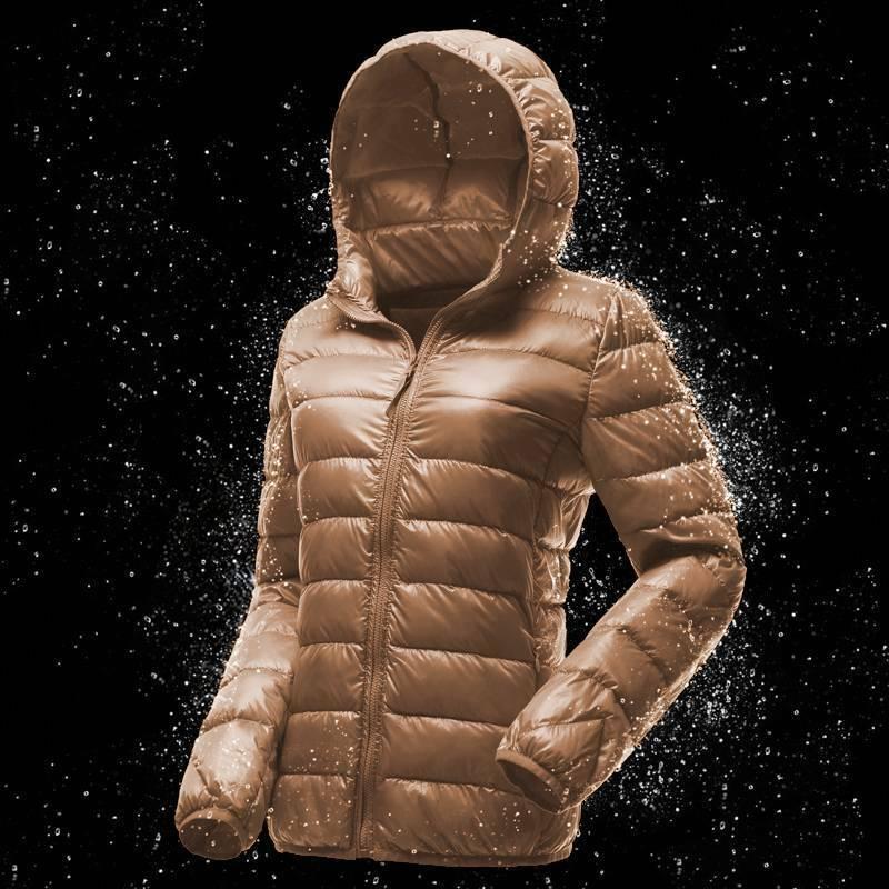 USA Packable Womens Duck Goose Down Ultralight Winter Jacket