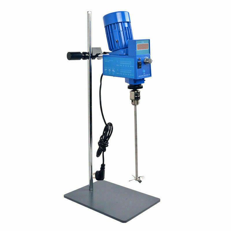 Powerful Lab Digital Stirrer Mixer 2000RPM 20L 10000mPas Fast Shipping!