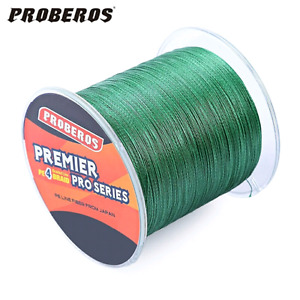 Braided fishing line for sale.