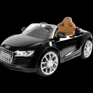Toy - 6V Audi R8 Spyder - Black used in good condition Marsfield Ryde Area Preview