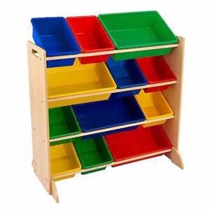 Shelved storage bins - multi-purpose