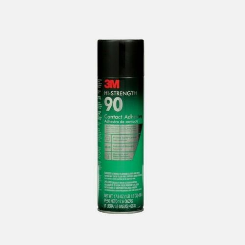 3M HI-STRENGTH 90 Contact Adhesive Spray 17.6 oz Precise Synthetic Polymer 90-24