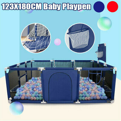 Baby Safety Play Yard Fence Kid Toddler Activity Indoor Outdoor Playpen