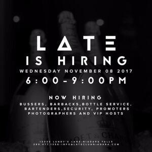 Job Fair- Hiring ALL Positions - Late Night Niagara