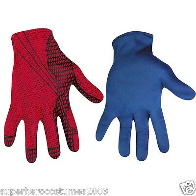 The Amazing Spider-Man 2012 Movie Adult Costume Gloves 42513 - BRAND NEW!