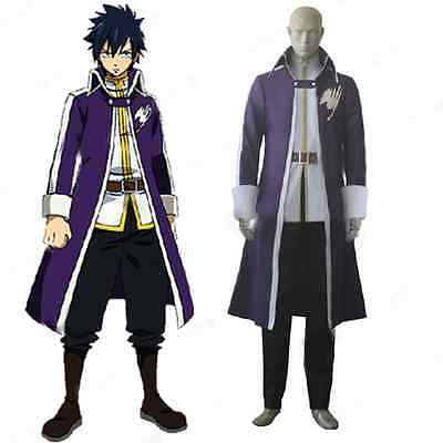 Fairy Tail Gray Fullbuster Kostüm (FAIRY TAIL Gray Fullbuster Cosplay Kostüm costume Kleidung Anime Cartoon Uniform)