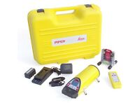 Leica piper 100 for sale. PIPE LASER LEVEL. Like new condition.