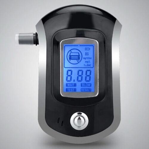 ALC Smart Breath Alcohol Tester Digital LCD Breathalyzer Analyzer AT6000 New