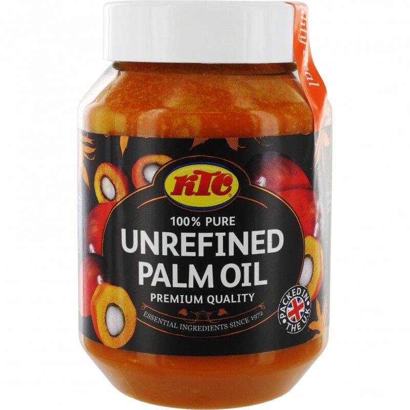 (5,98€/1l) AKTION [ 500ml ] KTC Palmöl 100% unraffiniertes Palm Öl / Palm Oil