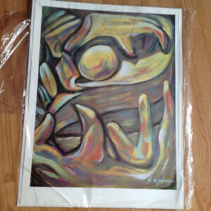 Abstract Limited Edition Print by Norman Moyah - $45 Strathcona County Edmonton Area image 1