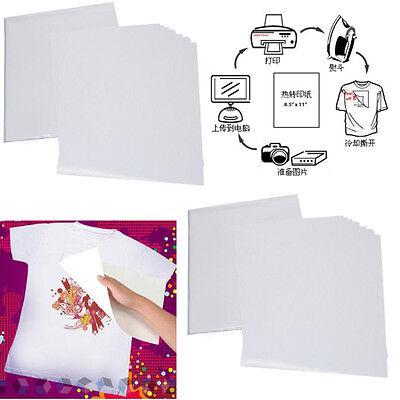 50pcs A4 Heat Transfer T-shirt Laserinkjet Iron-on Paper For Darklight Fabric