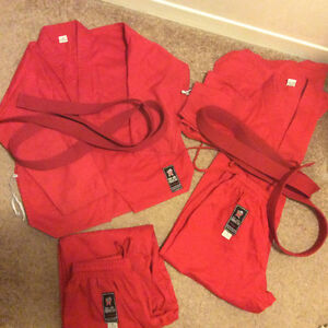 Red Karate uniform (from Olympic karate)