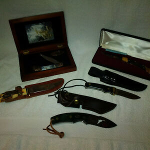DUCKS UNLIMITED KNIVES, BEST OFFER