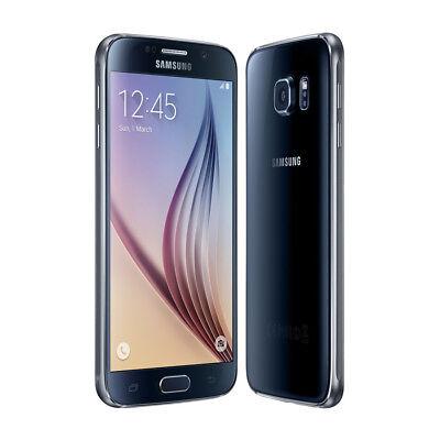 Black Samsung Galaxy S6 (SM-G920V) 32GB Unlocked Smartphone - Verizon USA
