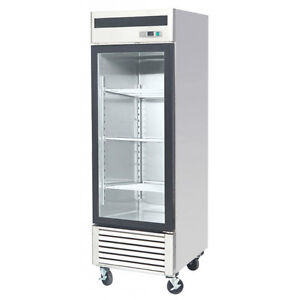Commercial Restaurant Glass Door Cooler / Freezer