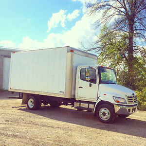 2010 Hino 185 Limited Edition Automatic 16' Box Straight Truck