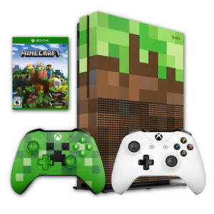 Xbox One S 1TB Minecraft Limited EDITION... COMPLÈTEMENT NEUF