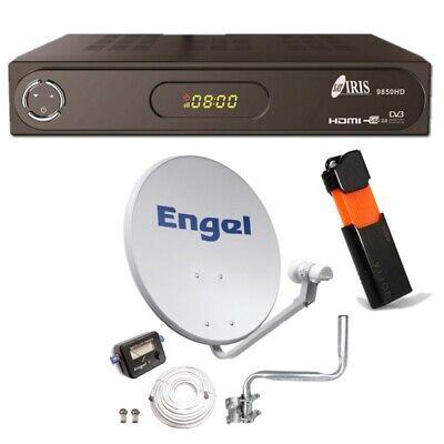 Kit PARÁBOLA 60 CM + Iris 9850HD + HDMI + PEN 32GB