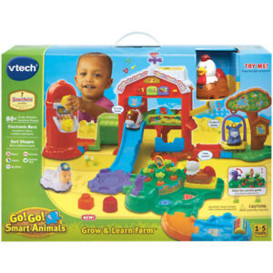 NEW VTech Go! Go! Smart Animals-Grow and Learn Farm French
