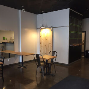 Ideal Downtown Cafe Space for Lease