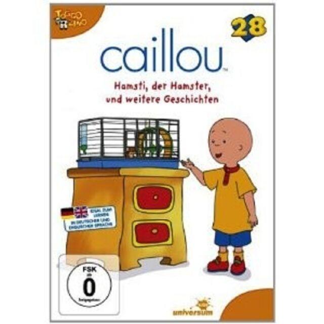 CAILLOU 28 - HAMSTI, DER HAMSTER UND WEITERE GESCHICHTEN DVD KINDER FILM NEU