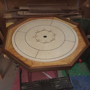Custom Made Crokinole Board
