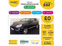 Porsche Cayenne 4.8 Tiptronic S S FROM £62 PER WEEK!