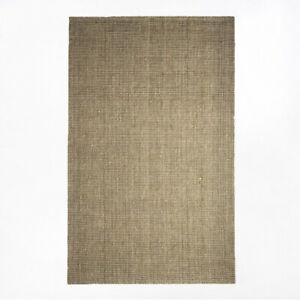 West Elm Jute Rug in Flax - 5x8' - $100
