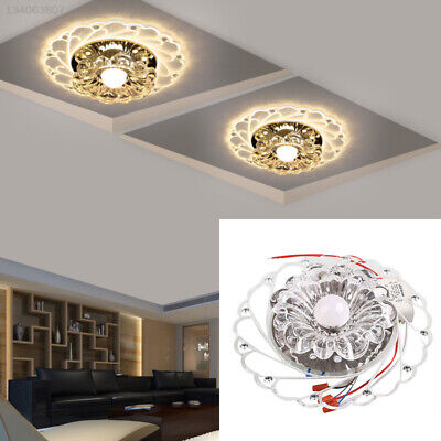 Modern Crystal LED Blue Superior Lighting Ceiling Chandelier Lamp Porch Bedroom