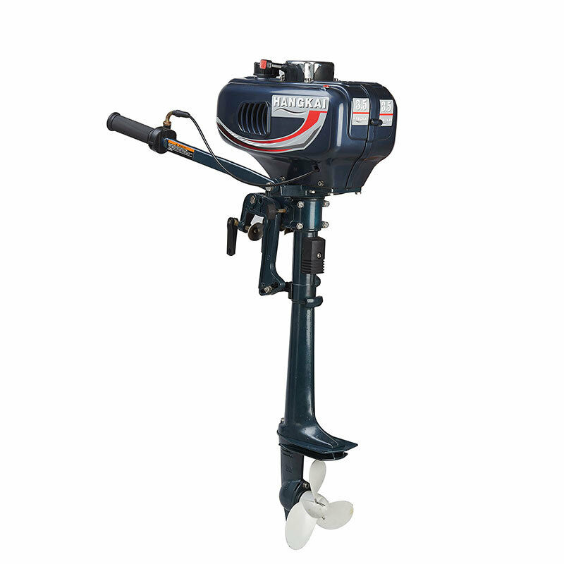 Details about NEW Outboard Motor 2 Stroke 3 5HP Heavy Duty Boat Engine  w/Water Cooling System