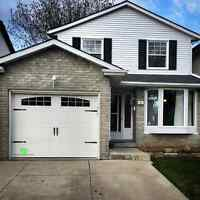 8x7 INSULATED CARRIAGE GARAGE DOORS.......... $850 INSTALLED