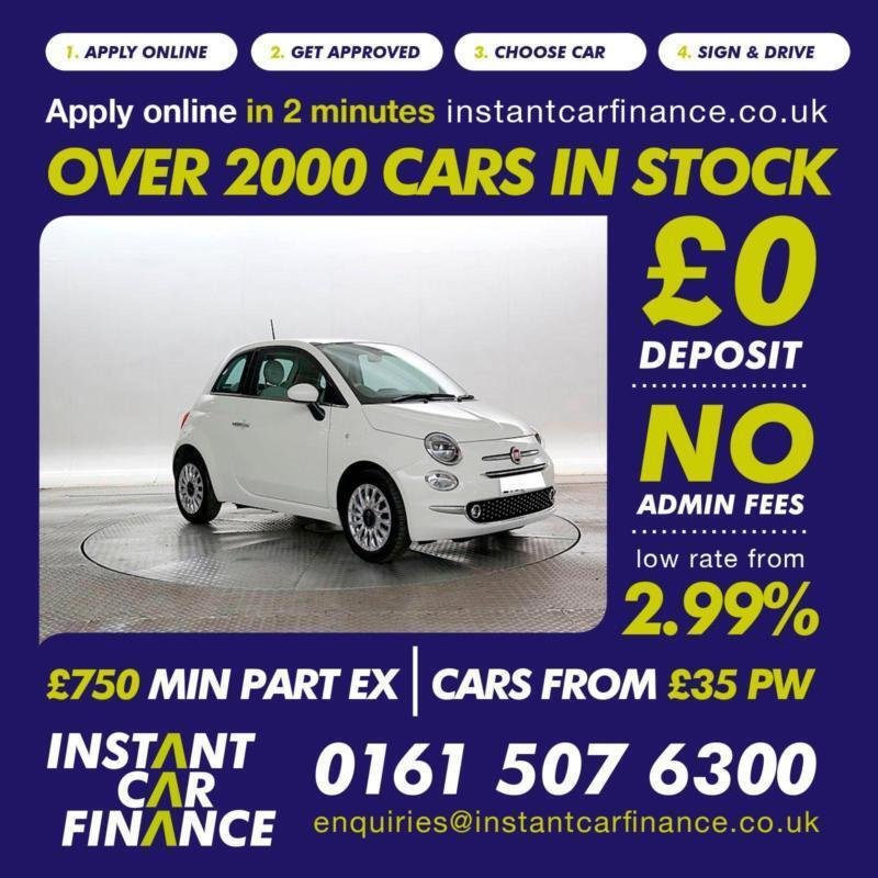 Fiat 500 1 2 ( 69bhp ) ( s/s ) Dualogic 2016MY LOUNGE FROM £48 PER WEEK |  in Manchester City Centre, Manchester | Gumtree