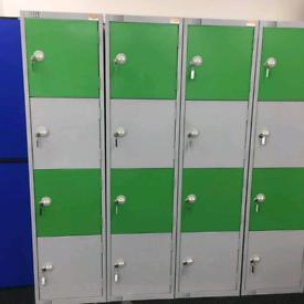 Lockers with keys