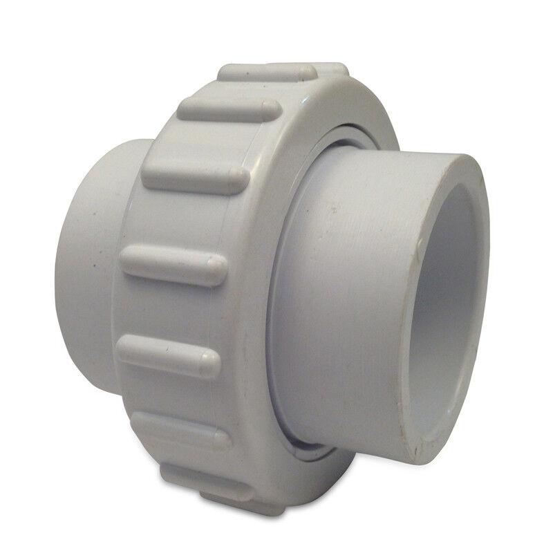 "Flush Union PVC White 1.5"" Slip x 1.5"" Slip Replacement for 1.5"" Unions"