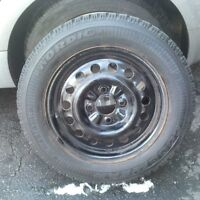 Perfect Condition Goodyear Nordic Winter Tires 195 60 15