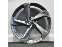 "18"" A9 Concept Style Alloy Wheels. Seat, Audi A3,A4, VW Passat, Jetta, Golf MK5, MK6, MK7,Caddy"
