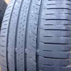 Set of 4 Goodyear Summer Tires 225/55/18 Call: (514)777-6421