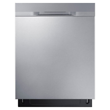 "Samsung DW80K5050US/AA 24"""" Built-In Dishwasher w/StormWash Stainless Steel"