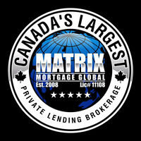 2nd MORTGAGE - NO JOB, NO INCOME – MatrixMortgageSolutions.ca