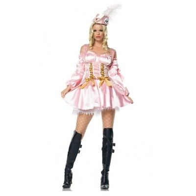 Captain's Treasure Pink Pirate Adult Womens Costume, 83374, Leg Avenue](Treasure Costume)