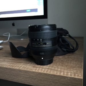 Nikon 24 - 85mm f3.5-4.5 G Lens (NEAR PERFECT CONDITION)