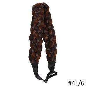 Adjustable natural Braided Hair Headband,Hair extensions St. John's Newfoundland image 5