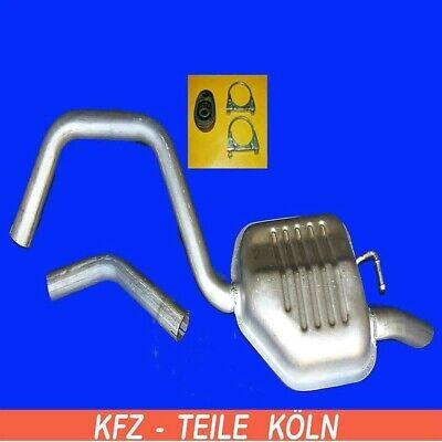 Ford Mondeo Kombi Auspuff ab Kat Mitteltopf Endtopf Bj ANBAUSATZ 93-98