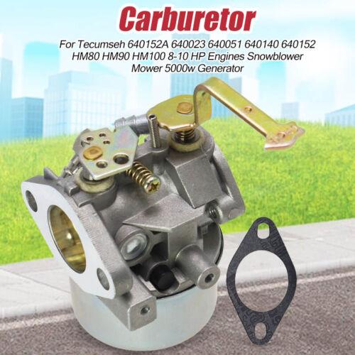 CARBURETOR Carb HM80 HM100 fit Tecumseh 640152A 640023 640051 640140 640152 New