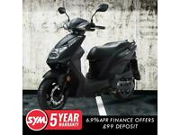 SYM Mask 125cc Twist & Go Learner Legal Automatic Scooter Moped For Sale